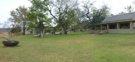 Singita Castleton: The layout of the lodge