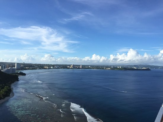 Tumon, Mariana Islands: Two love point ,the best view