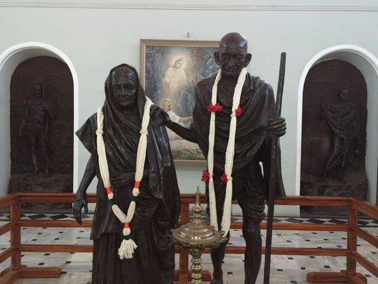 Aga Khan Palace: Mahatma & Kasturba Gandhi