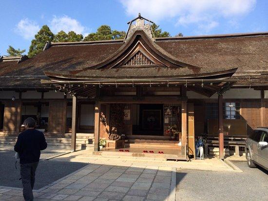Muryokoin: 入り口玄関