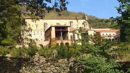 Monasterio de San Jeronimo de Yuste : fachada principal