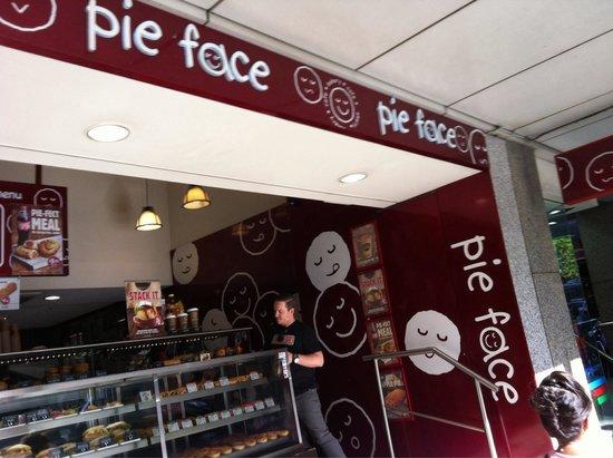 Pie Face: Shop front