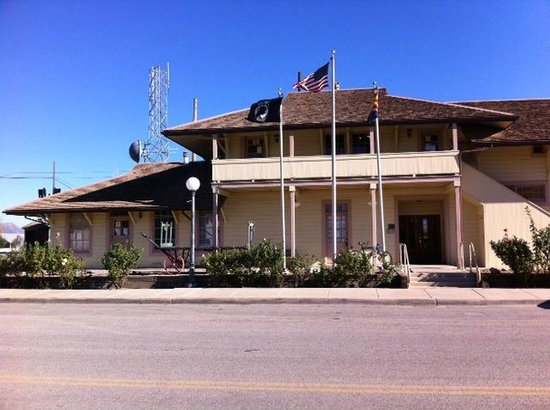 Willcox, AZ: Depot from outside