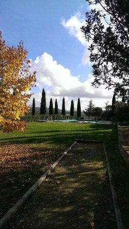 Agriturismo Palazzo Conti B : Pool in the fall