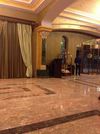 Golden Palace Hotel: холл