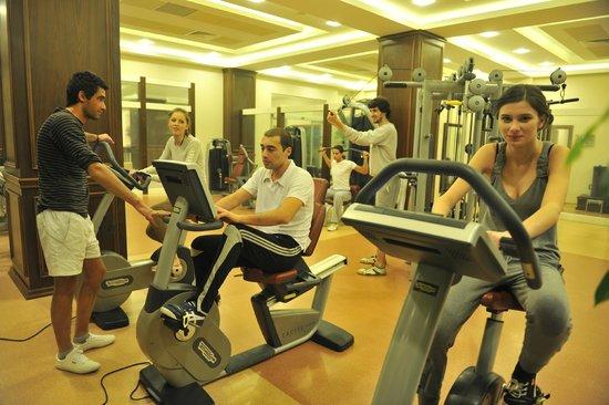 Naftalan, Azerbaijan: Fitness center