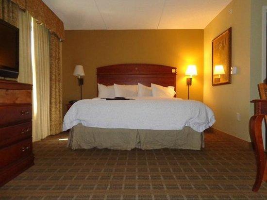 Hampton Inn & Suites Schertz : bed