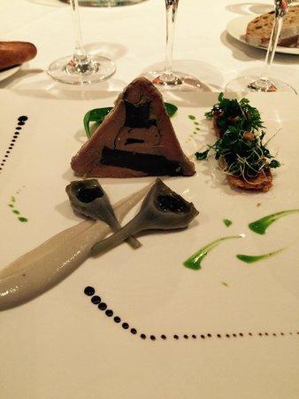 Guy Lassausaie : Foie gras aux artichauts truffés