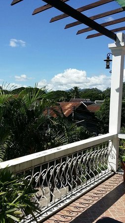 MyLaoHome Boutique Hotel : beautiful view from our balcony!
