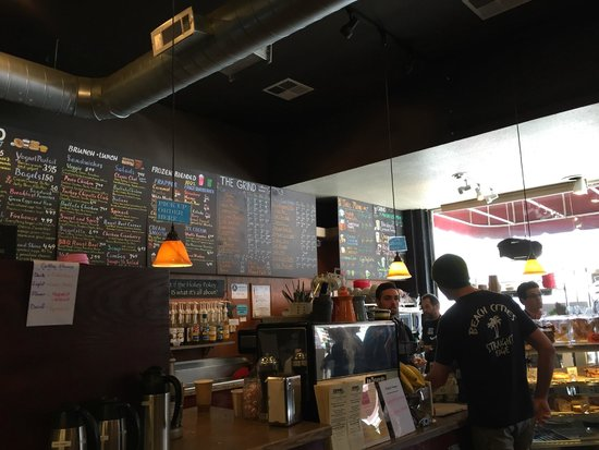 Grind Coffee House: Menu