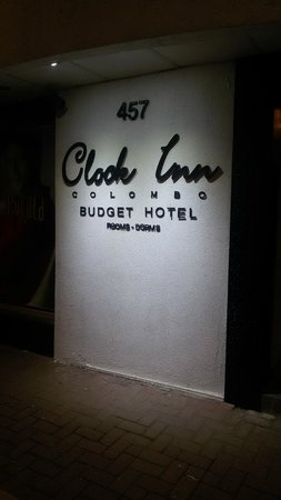 Clock Inn Colombo : entrance