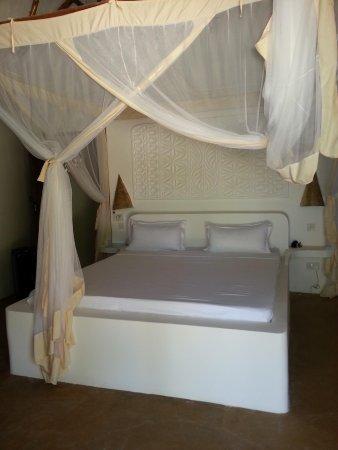 Mchanga Beach Resort : letto