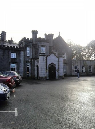 Abbey Hotel: On arrival