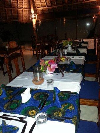 Mchanga Beach Resort : Cena