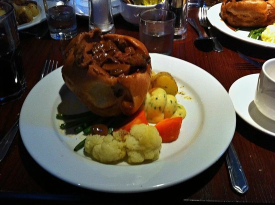 Hollins Hall Marriott Hotel & Country Club : Yorkshire Pudding