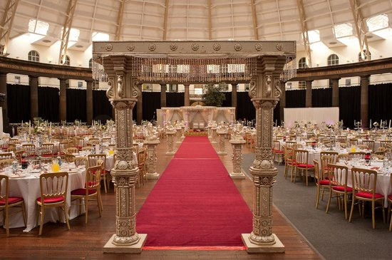 Asian Wedding Entrance Picture Of The Devonshire Dome Buxton