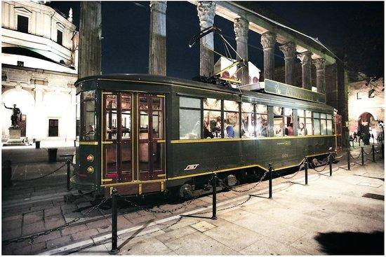 Tram Ristorante ATMosfera: Colonne di San Lorenzo