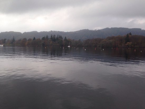 Bowness-on-Windermere, UK: View from the boat