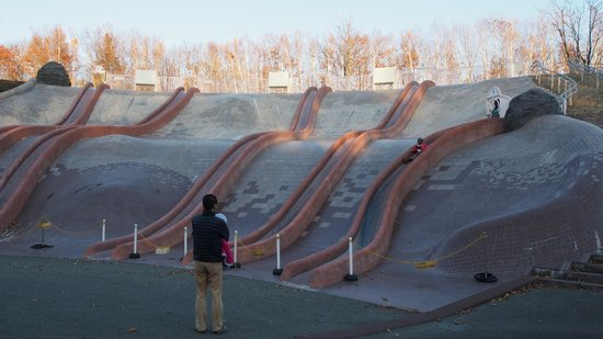 the 7 long-slides - 音更町、北...