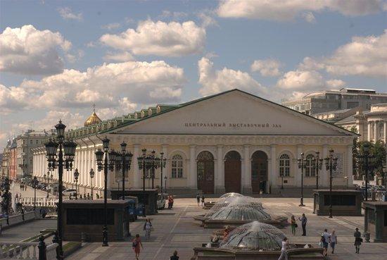 Manezh Central Exhibition Hall : Центральный выставочный зал Манеж