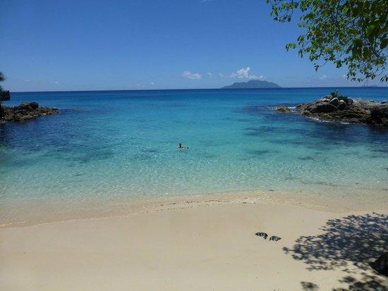 Hilton Seychelles Northolme Resort & Spa: herrliches Baden im Indischen Ozean