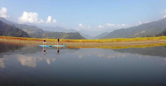 Stand Up Nepal Paddle Boarding
