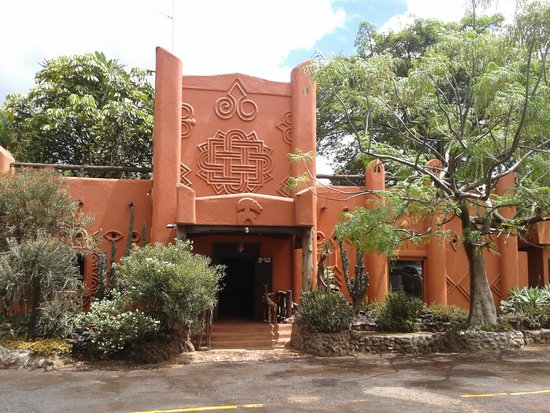 Front of the African Heritage House
