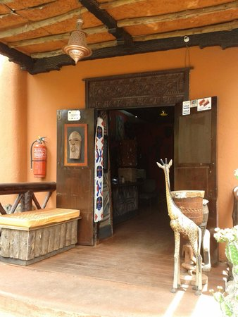 African Heritage House: Entrance