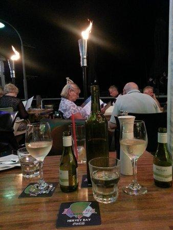 Evening at Cafe Balaena