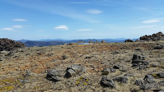 Cradle Mountain Huts: View from Mount Ossa