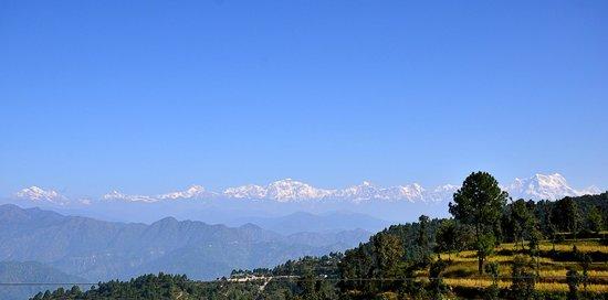 Khirsu Village : View from Khirsu