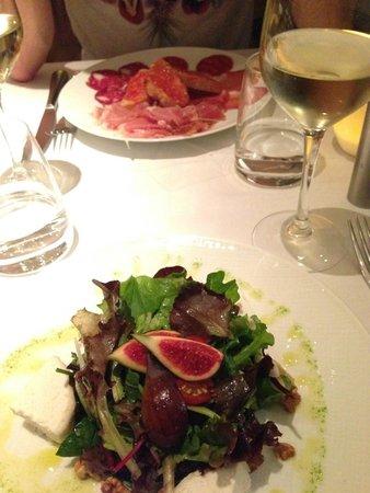 Iperiber : salade et charcuterie
