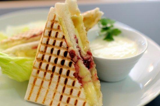 Cafe Salmovsky Palac: Grilled sandwich Tramezzini