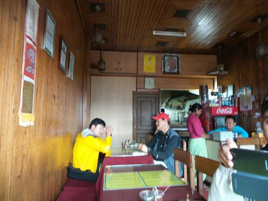 Kunga Restaurant: During lunch time