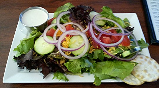 Hops Burger Bar: House Salad With Bleu Cheese