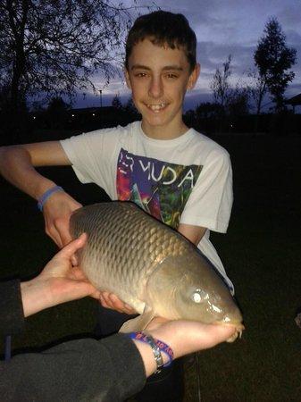 Westwood Lakes: 7.5 lb carp what a beauty