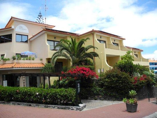 Vila Ventura : Unser Hotel von außen