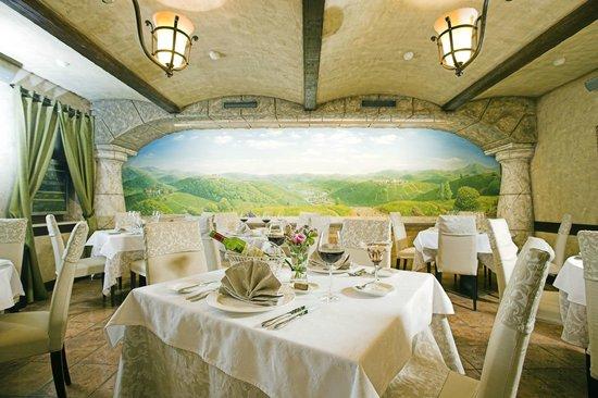 Hotel Otrada: Ресторан Casa d'Italia