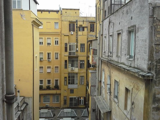 Repubblica Hotel: view from the room