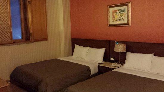 Hotel Queen Incheon Airport: 寝室
