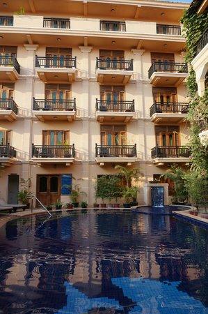 Rithy Rine Angkor Hotel: suasana hoten kecil yang nyaman