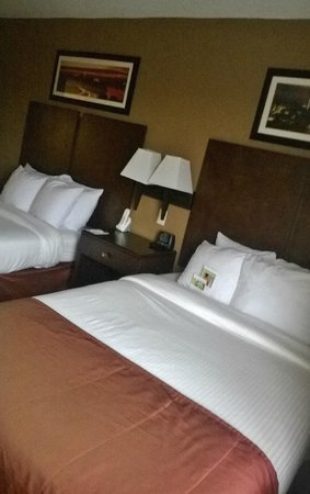 Wingate by Wyndham Chantilly / Dulles Airport: 2 camas queen neste apartamento