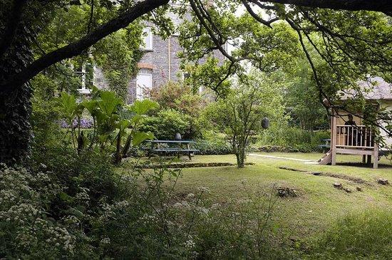 Viv's Tea Garden: part of Viv's tea rooms grounds