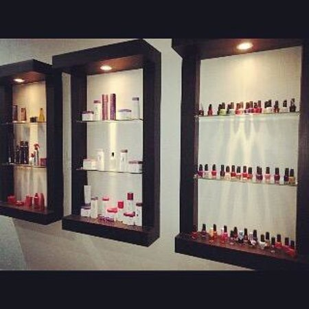 Ketapang, Indonesia: Wella , Schwarzkopf and OPI for nails