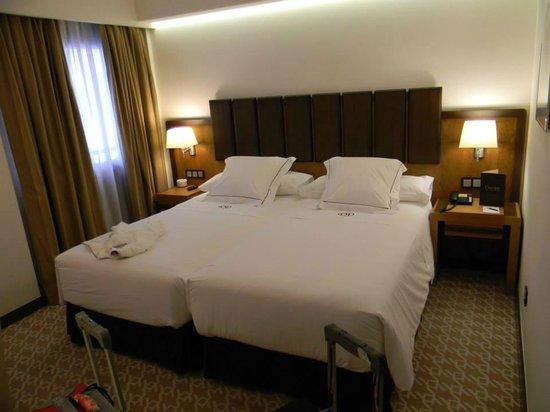 Hotel Claridge : habitacion