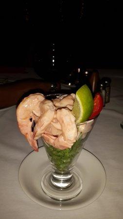 Grand Coastal Hotel: Tastyful Shrimp cocktail