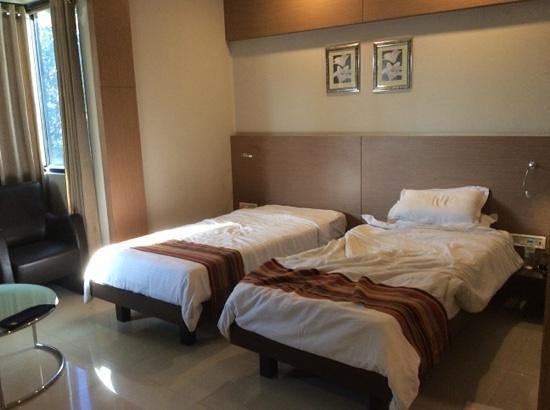 Dibrugarh Club House: la chambre