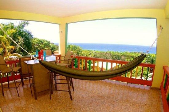 Desecheo Inn: Reef Room Balcony