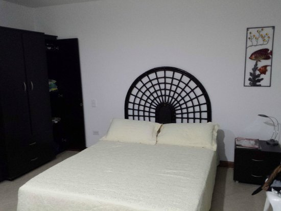 Hostal Mar y Mar: Ótima cama