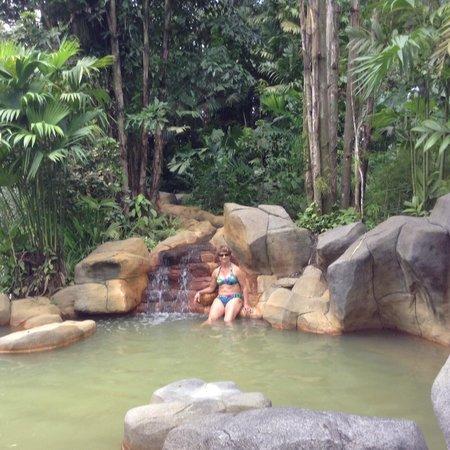 Arenal Paraiso Hotel Resort & Spa: Piscina de águas termais